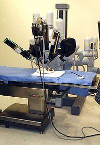 Laproscopic Surgery Robot.-Da Vinci Surgical System