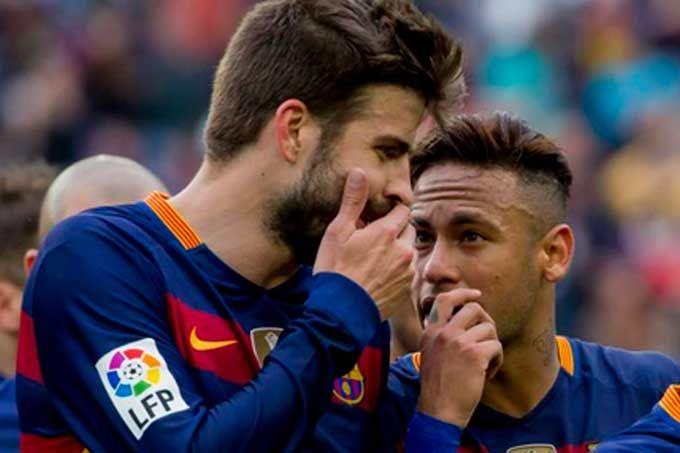 Gerard Piqué dedicó este mensaje de despedida para Neymar #Deportes #Fútbol