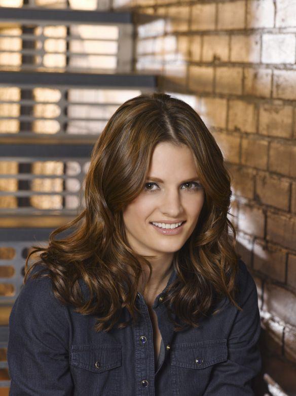 Castle TV Series, Stana Katic as Kate Beckett