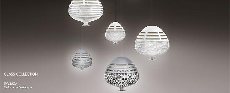 #GlassCollection INVERO design Carlotta de Bevilacqua http://bit.ly/InveroSuspension http://bit.ly/InveroCeiling