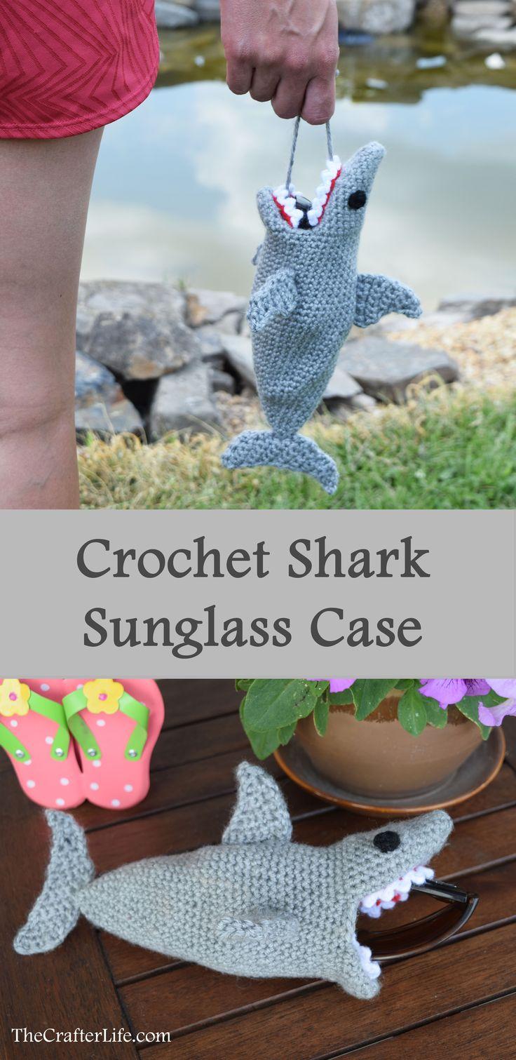 Shark Sunglass Case