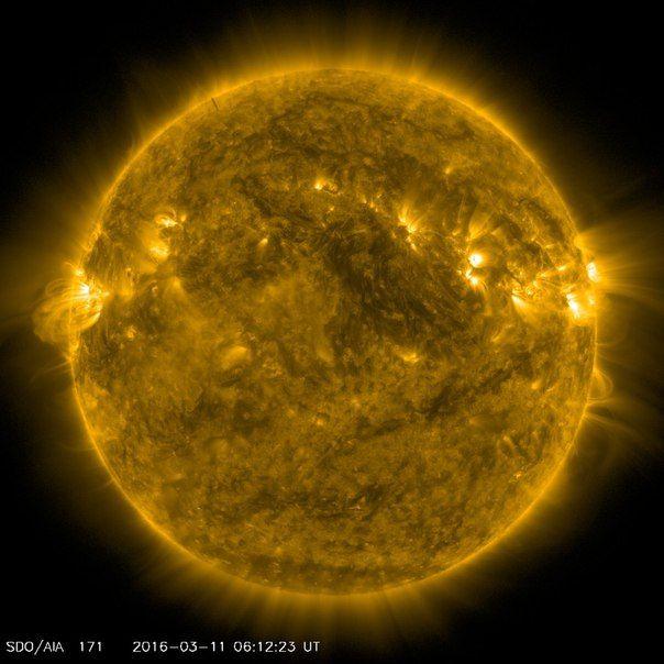 Солнечная активность 11 / Интересный космос