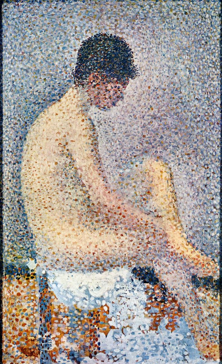 Model in Profile - Georges Seurat
