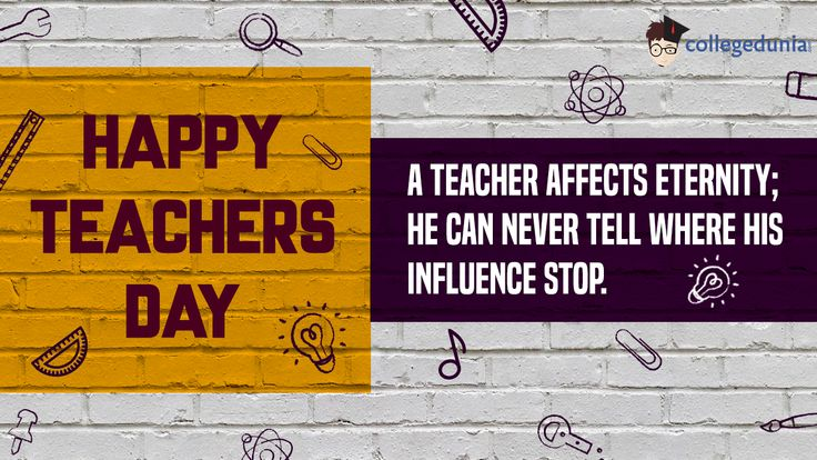 In India, 5th September is celebrated as Teachers' Day as a mark of tribute to the contribution made by teachers to the society. 5th September is the birth anniversary of a great teacher Dr. Sarvepalli Radhakrishnan, who was a staunch believer of education, and was a well-known diplomat, scholar, the President of India and above all, a teacher. Teachers Day