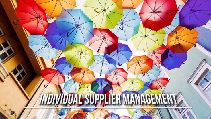 Individual Supplier Management