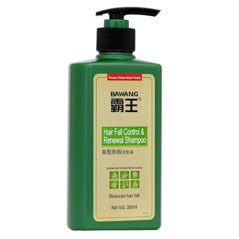 Hair Fall Control & Renewal Shampoo with Chinese herbal extracts