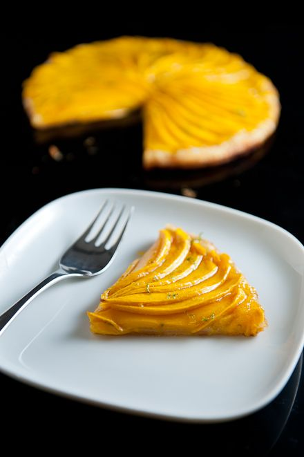 Mango Tart with Lime | Zen Can Cook