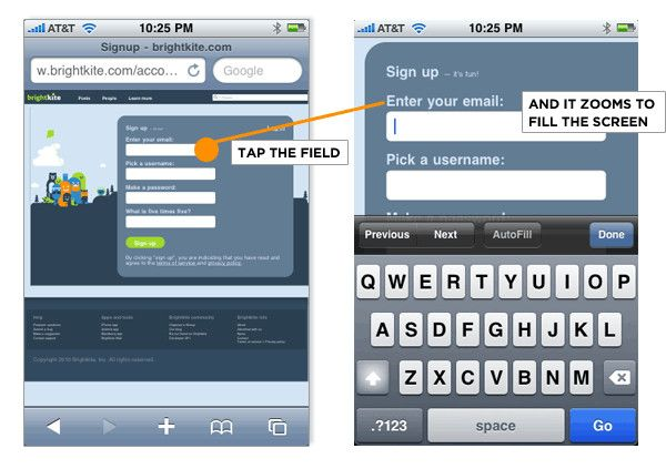 Forms On Mobile Devices: Modern Solutions | Smashing UX Design