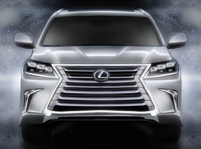 2016 Lexus LX 570 Spy