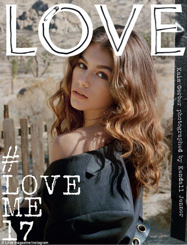 Multi-talented: Kendall Jenner shot Cindy Crawford's daughter Kaia Gerber as one of eight ...