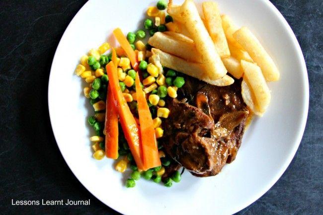 Easy Slow Cooker Recipes: Honey Soy Lamb Chops