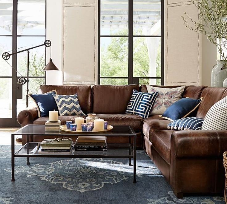 Best 25+ Brown leather couches ideas on Pinterest ...