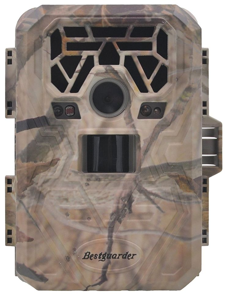 "XIKEZAN No Glow 12MP Trail & Game Camera 1080P HD Motion Activated Long Range Wildlife Hunting Cameras with 2.0"" LCD Screen Infrared Night Vision Trail Cam Bestguarder 1 Year Manufacturer Warranty"
