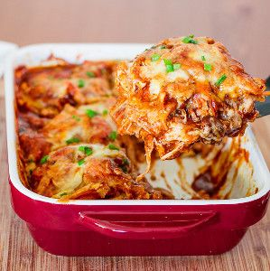 204 best mexican casserole recipes images on pinterest casserole 4 ingredient chicken enchilada casserole so simple so delicious forumfinder Images