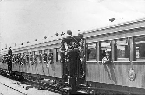 Dunedin, NZ, WW1