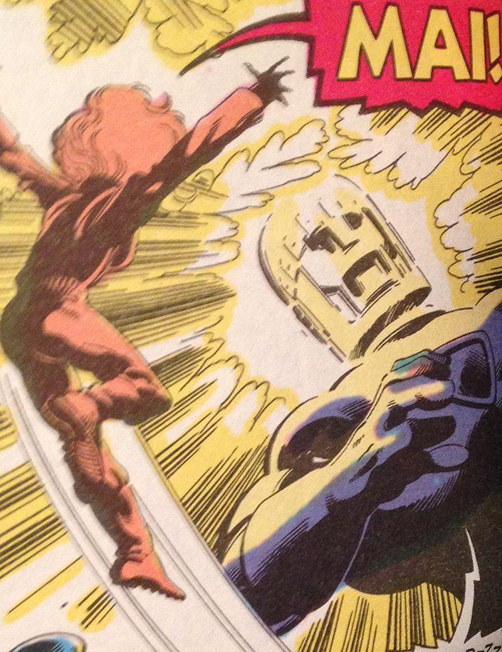 Also lettering could be colored --------- Anche il lettering può essere colorato --------- X-Men days of a future pas (John Byrne)