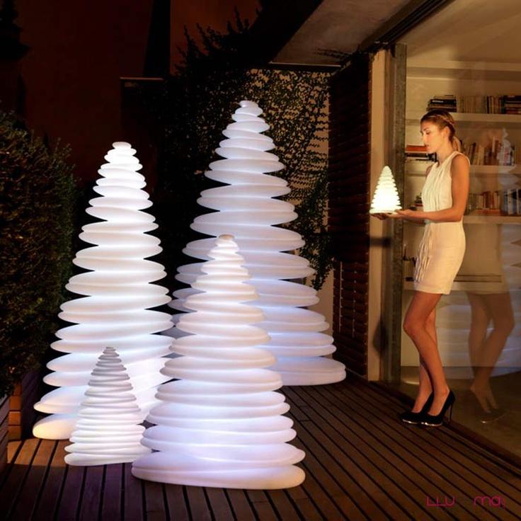 Christmas lamp by Vondom Chrismy Nano. Vondom with LED lamp.