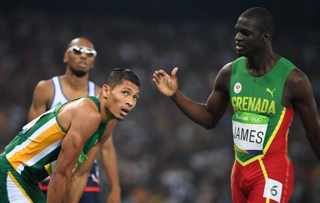 Wayde van Niekerk and Kirani James #Rio2016