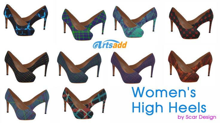 Women's High Heels  by Scar Design. #fashion #style #giftsforher #shopping #family #family #onlineshopping #womensshoes #highheels #art #artist #artsadd #scardesign #39 #shoes #love #loveshoes