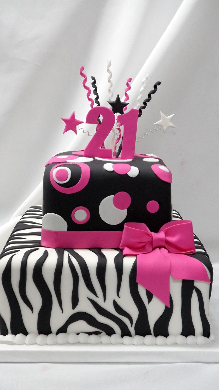 73 best Animal print cakes images on Pinterest Descendants cake