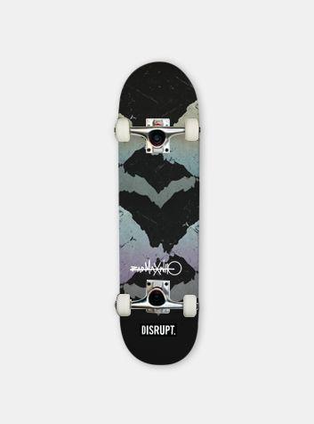 Disrupt Sports Rad Max Jagged Skateboard | Design Your Own Skateboard Online |   #customskateboards #skateboardinspiration #skateboardart