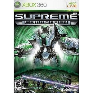Supreme Commander for the Xbox 360 is a spectacular adaptation of the original, award-winning real-time strategy (RTS) experience, updated and enhanced for Microsoft's powerful console. Gamers will live out the title's epic battles in ways unimagined on a PC with hundreds of units waging war across gigantic maps in stunning HD and surround sound. Xbox 360-exclusive units, new online game modes and updated maps will bolster Xbox Live play as gamers wage war against opponents a