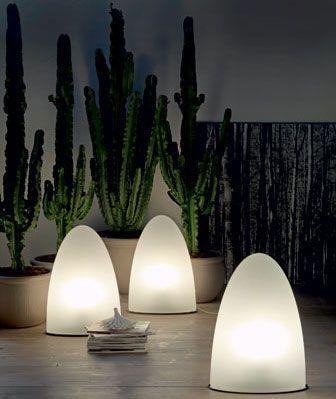 Cattelan Italia U2013 Tibey Piero De Longhiu0027s Tibey Indoor/outdoor Floor Lamps  With Polyethylene Shades