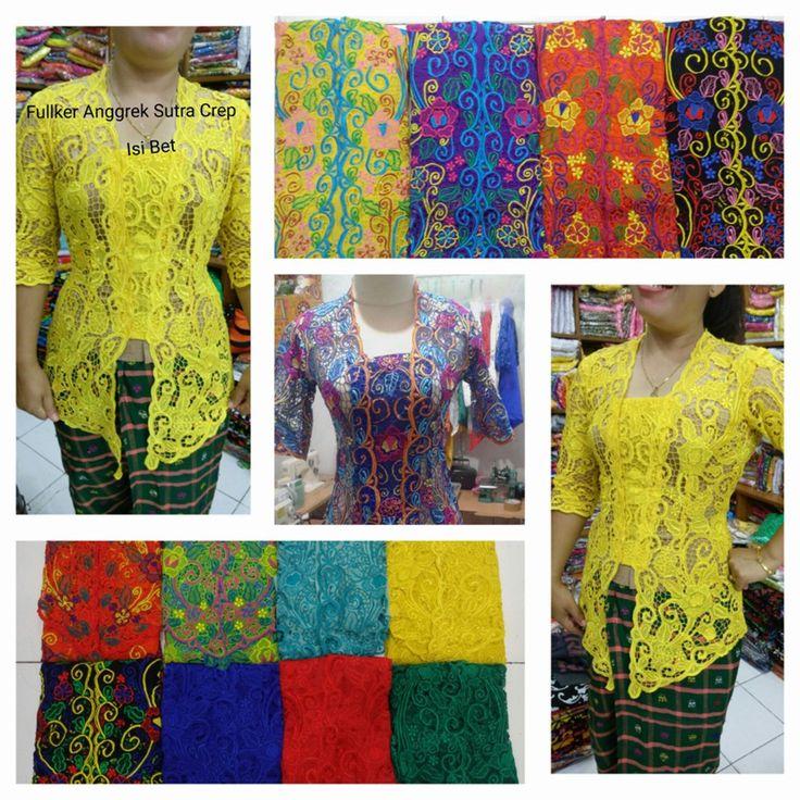 ETNIK Baliya jual Kebaya fulker terbaru anggrek dengan harga murah. Whatsapp/Hp : 081999114482 (XL ) HP :087866232446 BBM : 5B73E476