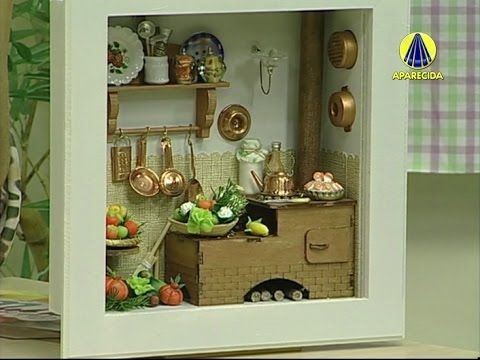 Vida com Arte | Quadro de Cozinha em Miniatura por Tânia Bettine - 15 de...