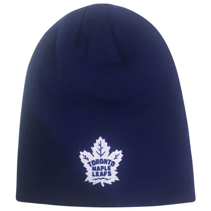 Toronto Maple Leafs Reebok  Men's Basic Beanie Toque - shop.realsports