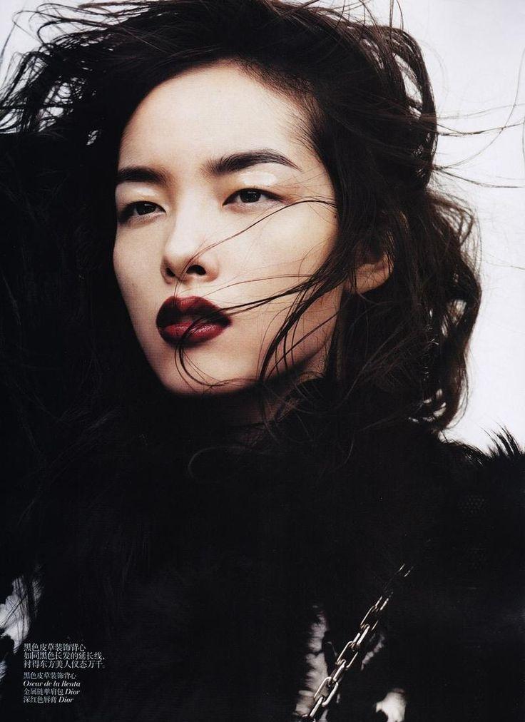 Shushi Online: EDITORIAL: Sun Fei Fei in Vogue China, November 2011