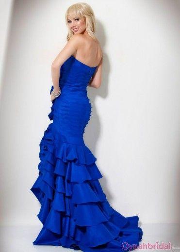 Blue Long Prom Dresses, Love The Flow