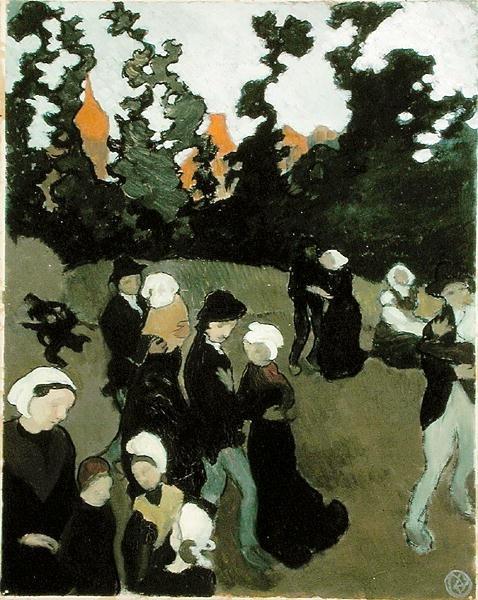 'The Breton Dance' -  Maurice Denis  (1870-1943)