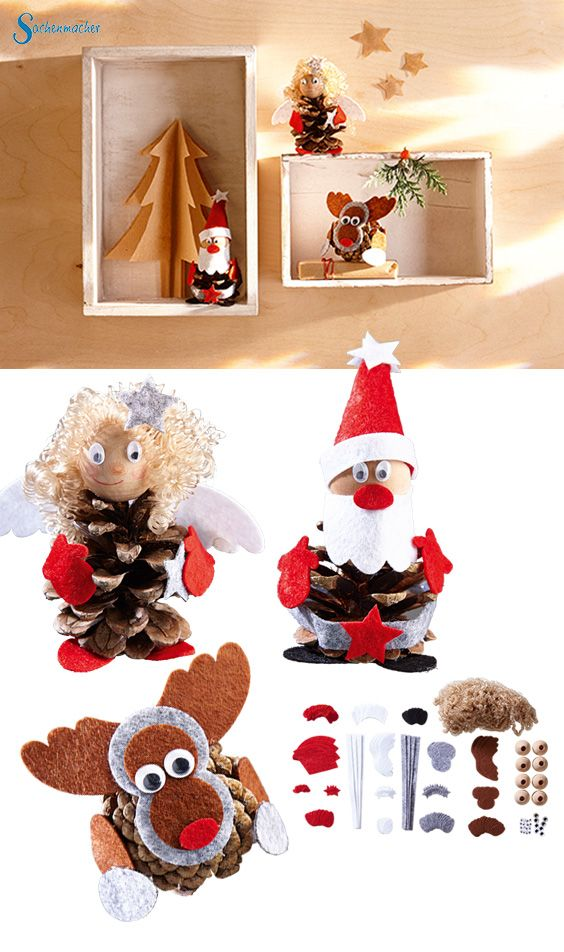 1000 images about weihnachtliche bastelideen on pinterest basteln weihnachten and abs. Black Bedroom Furniture Sets. Home Design Ideas
