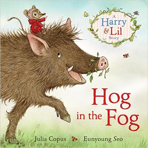 I read this with my six year old granddaughter, Seren, and we gave this 5* (Because we weren't allowed to give it any more) The Blurb: The tale of a hog in the fog. This is the story of Candy…
