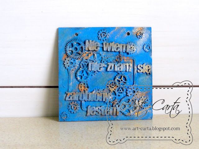 Art-Carta  : Niebieska tabliczka