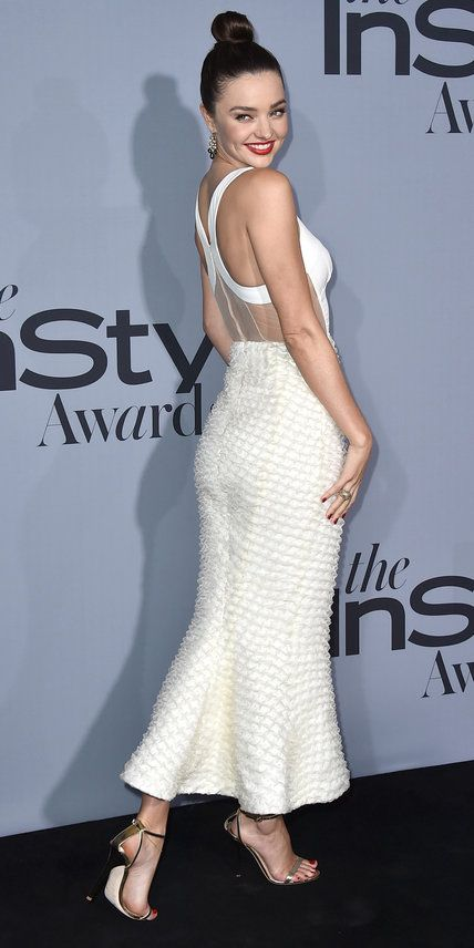 See the Stars on the 2015 InStyle Awards Red Carpet - Miranda Kerr - from InStyle.com