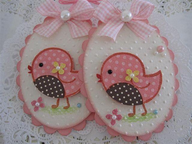 Cute Bird Embellishments by vsroses.com, via Flickr