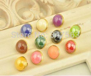 K331 Чун ся женский пномпень конфеты цвет рубашки кнопки горный хрусталь кнопки швейной фурнитуры скрапбукинга комплект одежды
