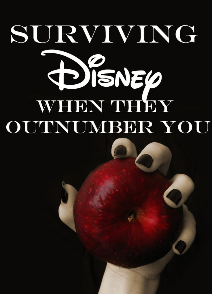 Surviving Disney World when they outnumber you...massive list of family travel tips for being outnumbered by kids at Disney, single or coupled parents.