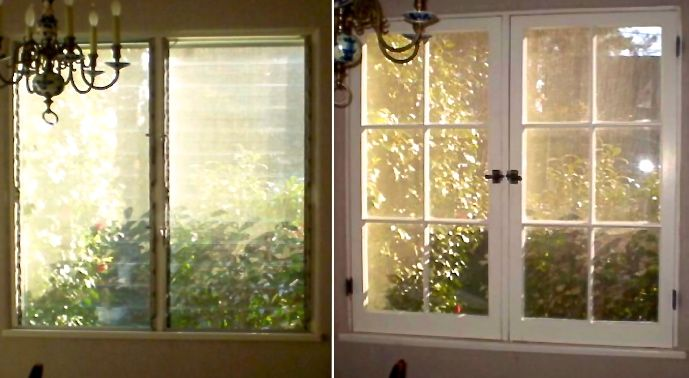 Casement Windows 1920 : A cottage with s jalousie windows replaced