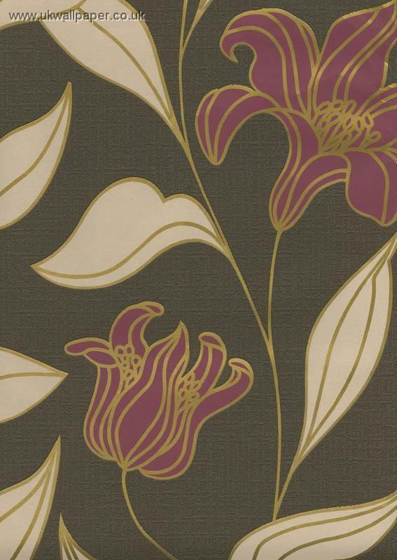 31 best images about art nouveau wallpaper on pinterest for Art nouveau wallpaper uk
