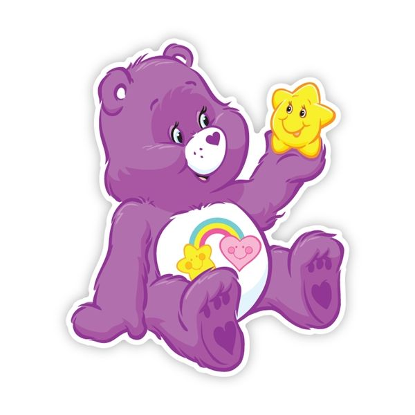 102 best care bear best friend bear images on pinterest for Belly button bears wall mural