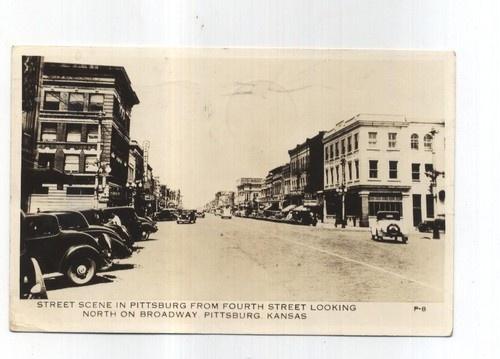 RPPC Pittsburg Kansas 1939