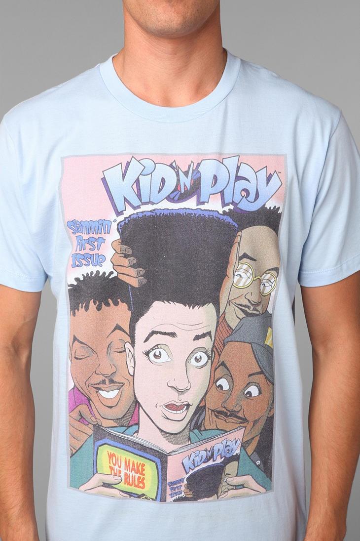 Shirt design pinterest - Kid N Play Tee Urbanoutfitters