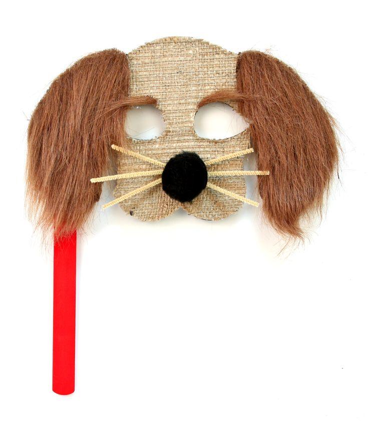 Nicole™ Crafts Wood Dog Mask #kids #crafts