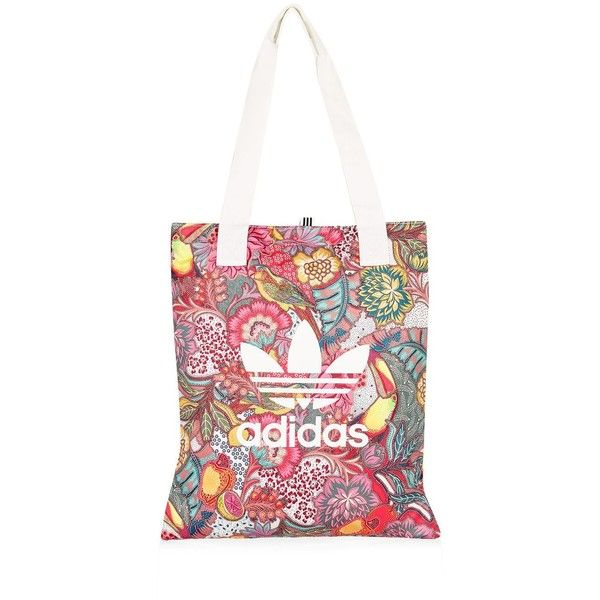 Shopper Bag by Adidas Originals (€21) ❤ liked on Polyvore featuring bags, handbags, tote bags, black, shopper tote handbags, shopper handbags, adidas, sports tote bag and sport tote