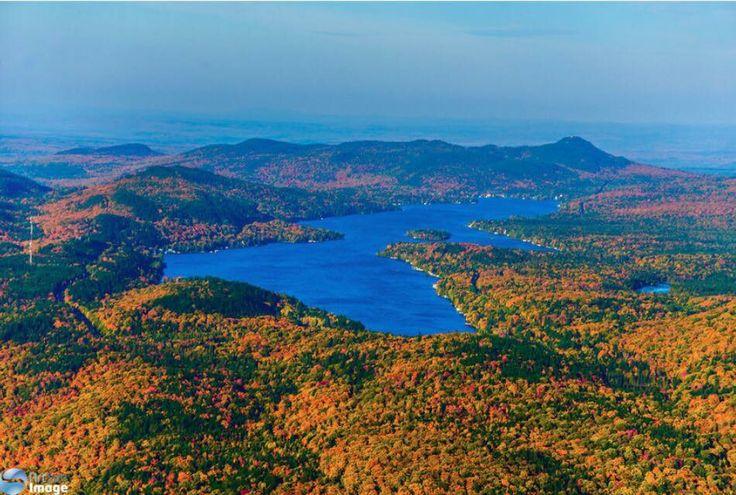 Le Lac Trois-Saumons en automne. #LacTroisSaumons #cotedusud #automne #automn
