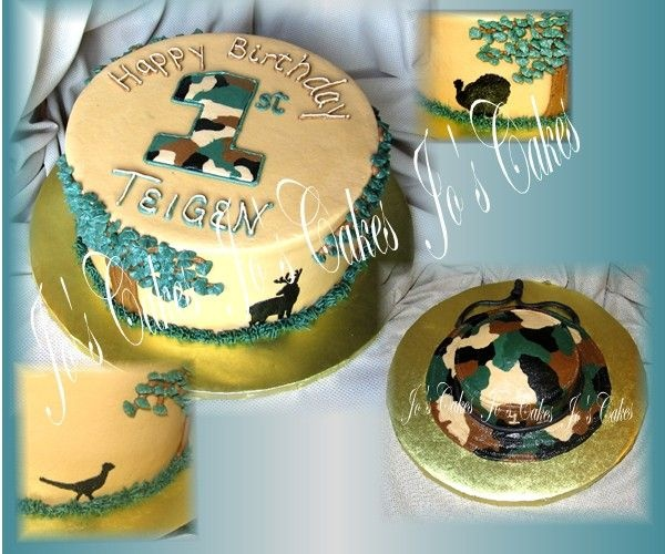 25+ Best Ideas About Hunting Birthday Cakes On Pinterest