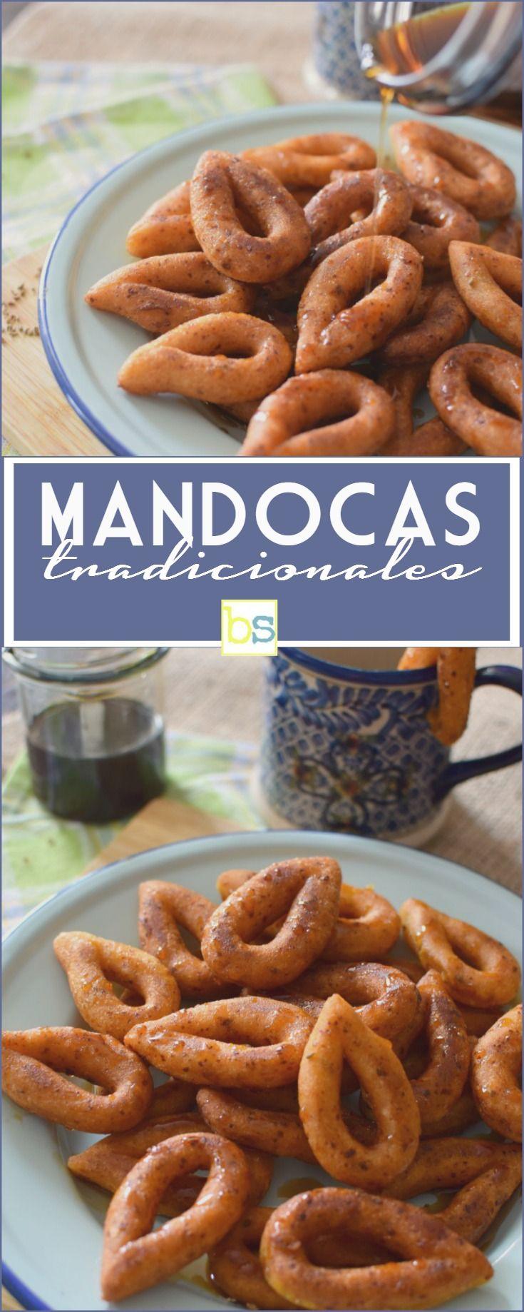 Mandocas tradicionales venezolanas, hechas con harina de maíz, queso blanco, semillas de anís y melado de papelón, muy ricas para el desayuno o la merienda de los niños y adultos también! En bizcochosysancochos.com